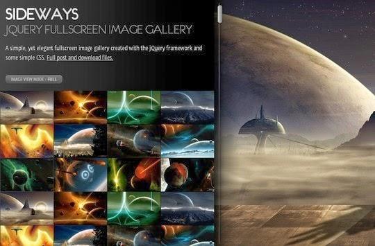 10 Stylish Free Full Screen jQuery Slideshow