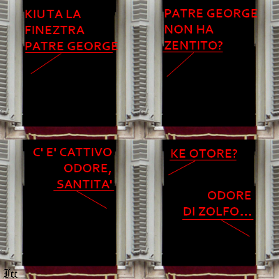 La finestra del Papa