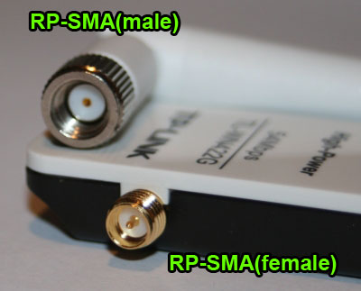 RP-SMA (female and male)