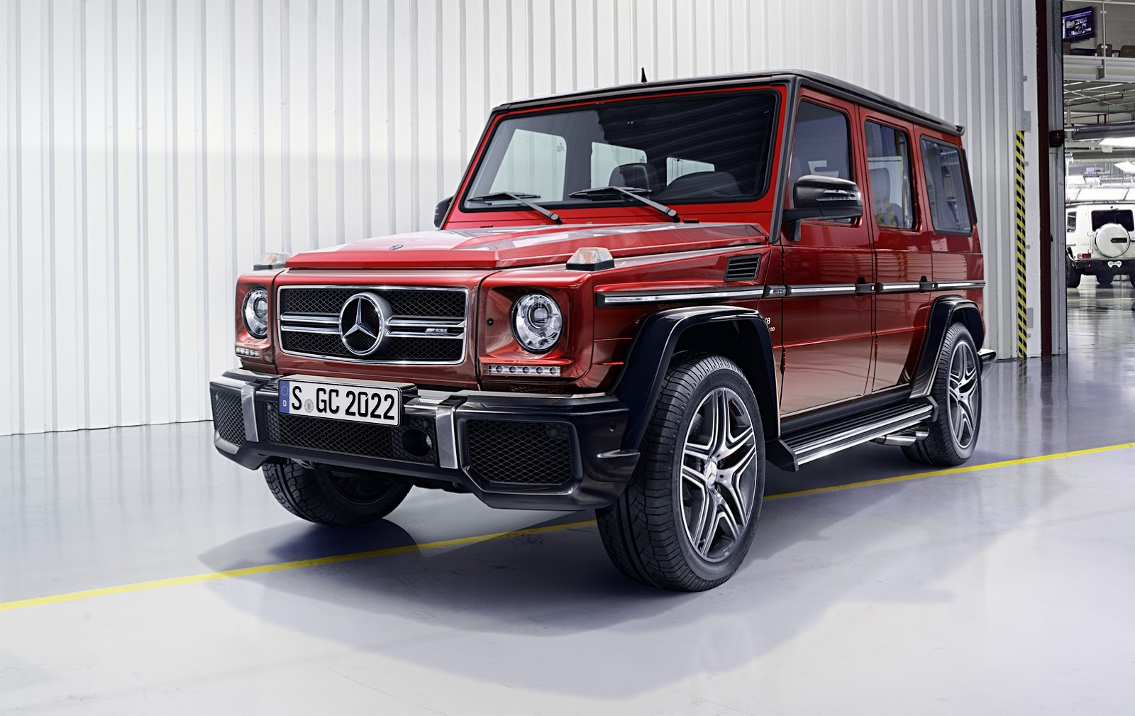 Cars For Sale Jacksonville Fl >> 2016 Mercedes-Benz G-Class Gets New Engines, Suspension And Cosmetic Upgrades | Carscoops