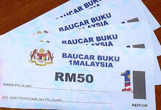 Penggunaan Baucar Buku 1Malaysia dilanjutkan sehingga 30 April ini