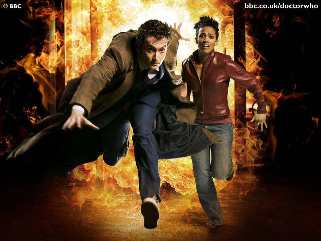 Tennant and Martha