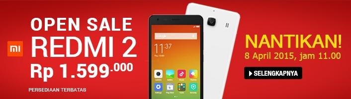 Beli Xiaomi Redmi 2 4G versi Indonesia Bisa Dapat Mi Pad Gratis!