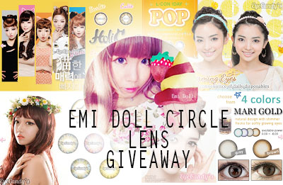 Free circle lenses