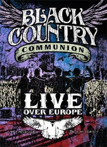 A la venta Black Country Communion Live Over Europe en DVD