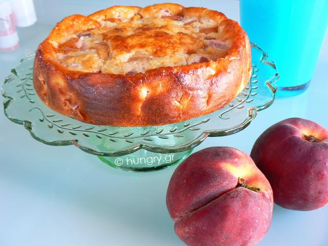 Clafoutis with Fresh Peaches