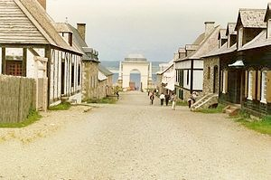 Main Street, Louisbourg