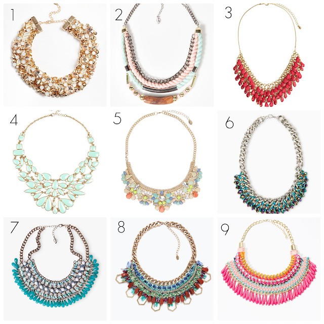 Ioanna's Notebook - Statement Necklaces shopping picks