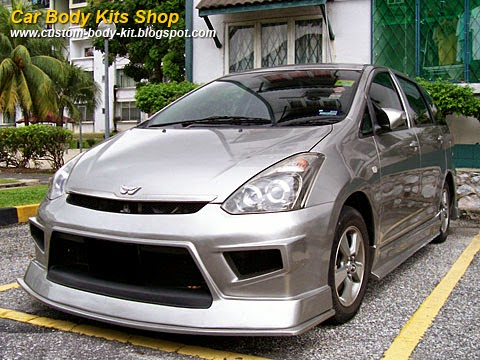 Toyota Wish Body Kit