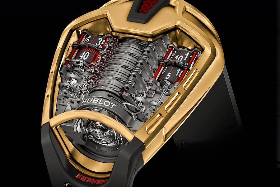 Hublotからラフェラーリの超高級な腕時計が登場!|idea Web Tools 自動車とテクノロジーのニュースブログ