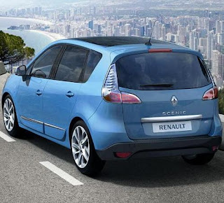 2012 Renault Scenic and Grand Scenic car