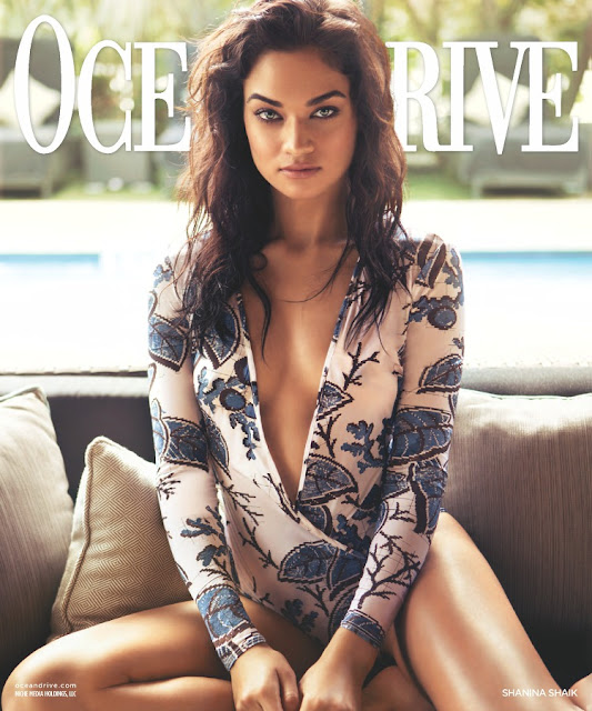 Fashion Model, @ Shanina Shaik - Ocean Drive, February 2016