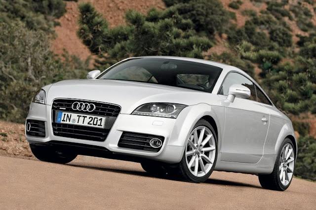 2011 Audi TT Coupe Front Exterior