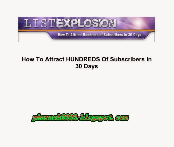Free download amazing report-List explosion
