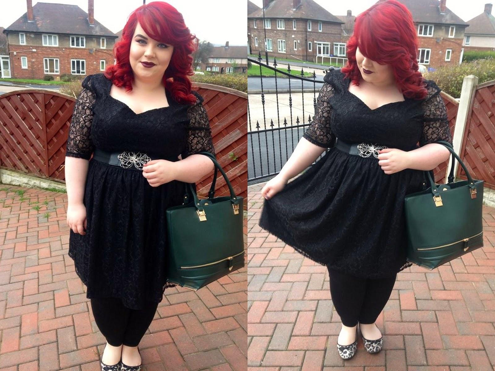 Lovedrobe's Black Lace Overlay Dress, georgina grogan, shemightbeloved