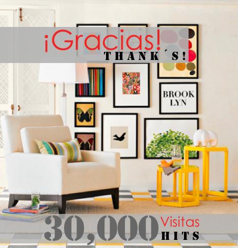 Dise adora de interiores 30 000 visitas 30 000 hits - Disenadora de interiores ...