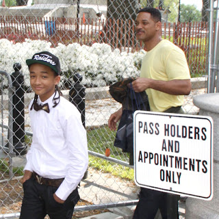 Celebrity Easter with Will Smith and Jaden Smith at the White House!