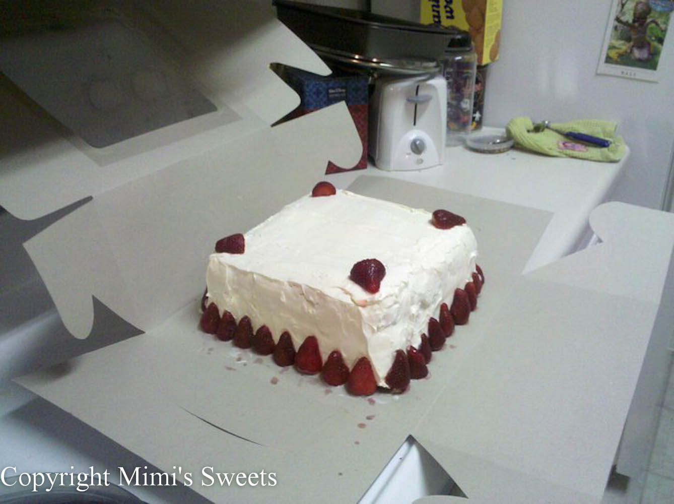 cream cake cookie ice cream cake chiffon cake inside out strawberry ...
