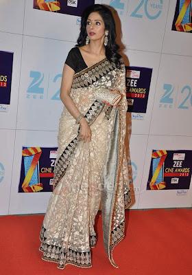 1217 - sridevi Zee Cine Awards 1