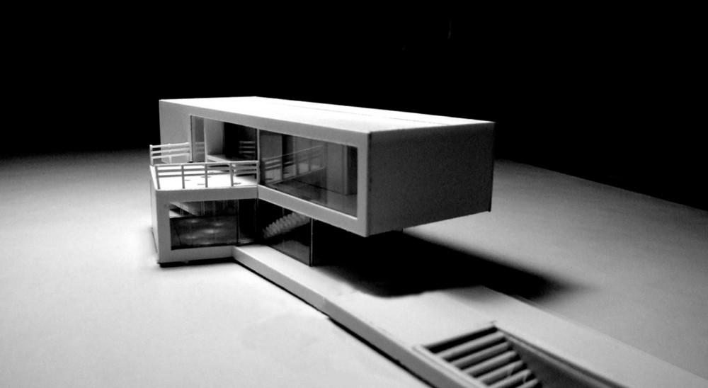 Maquetas casas modernas for Casa moderna maqueta