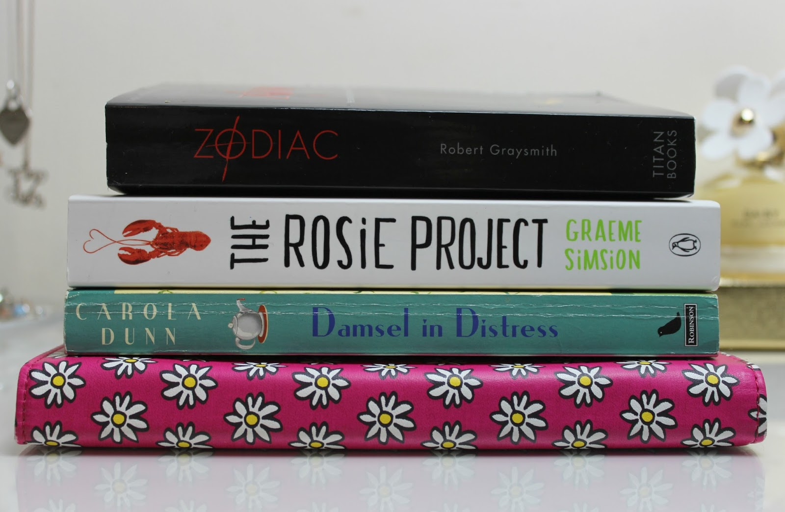 A picture of books to read this April