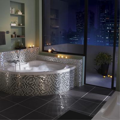 D co salle de bain mosaique - Salle de bain en mosaique ...