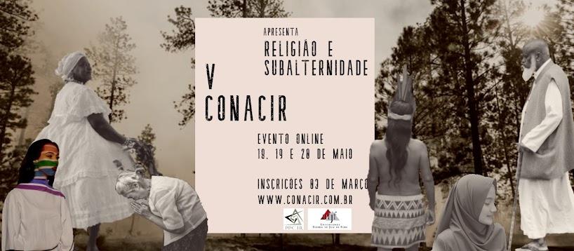 V CONACIR - Congresso Nacional de Ciência da Religião da UFJF