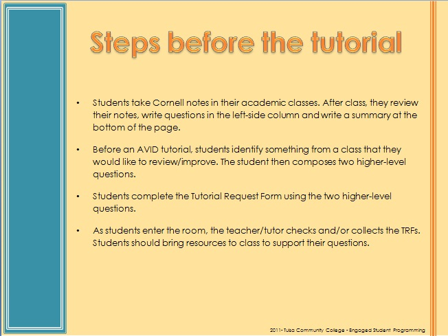 My Teaching And Student Blog Avid Style Tutorial