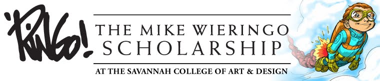 The Mike Wieringo Scholarship at S.C.A.D.