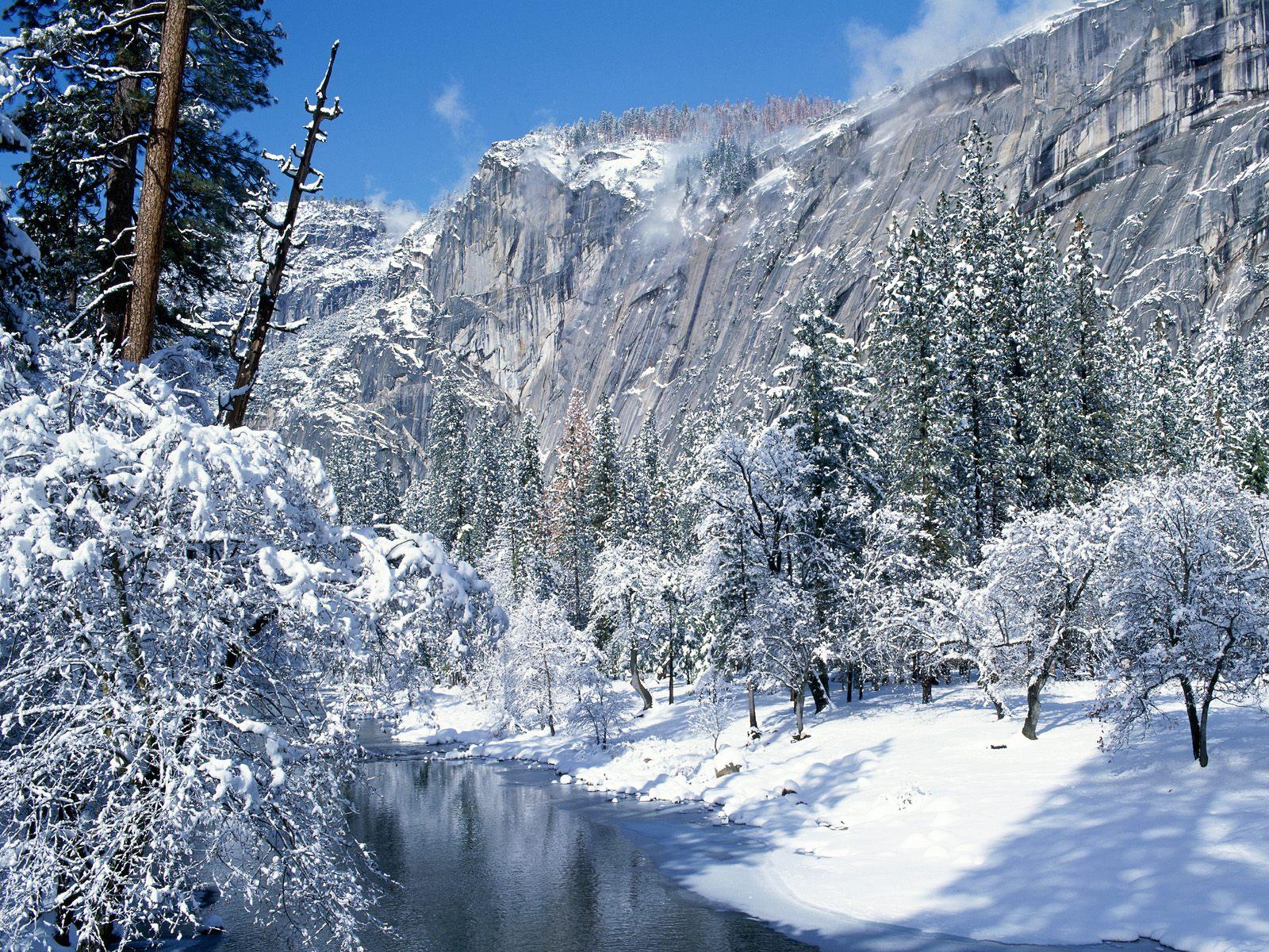 Wallpaper Proslut: Ice Snowy Mountains Free Wallpapers HD