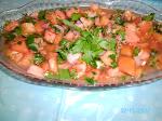 Vinagrete de Tomate com Salsinha