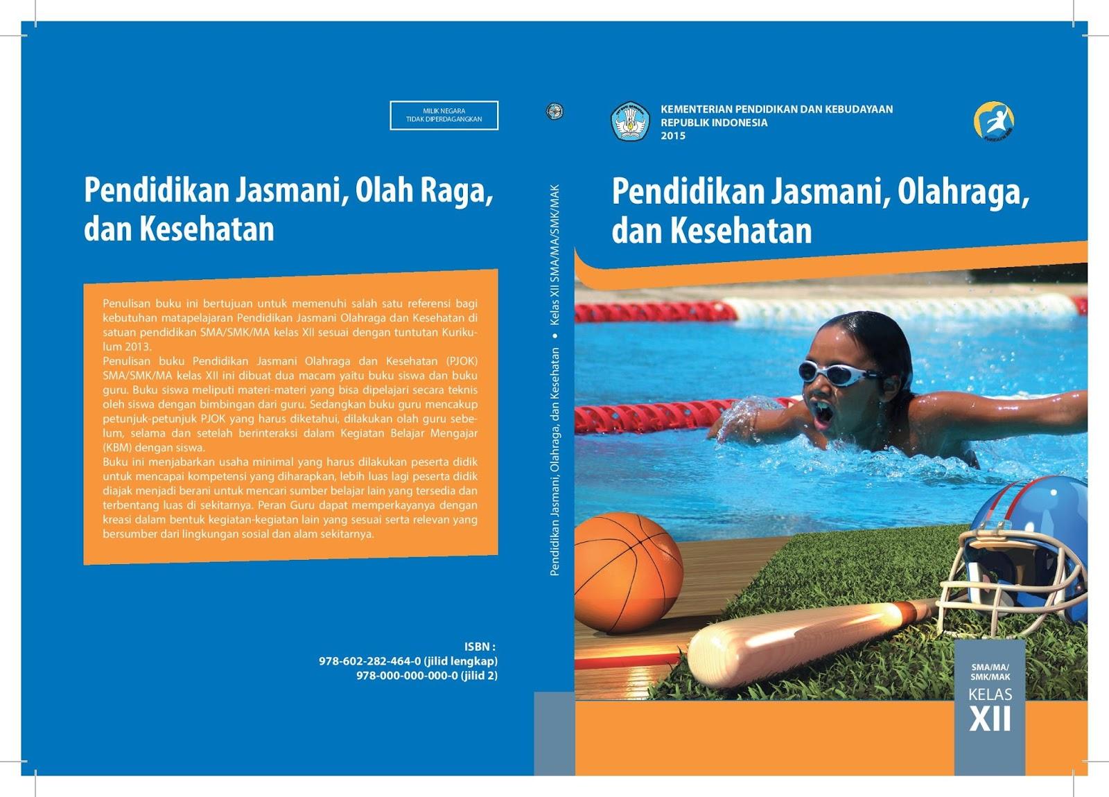 Download Buku Pjok Kelas Xii Kurikulum 2013 Buku Guru Dan