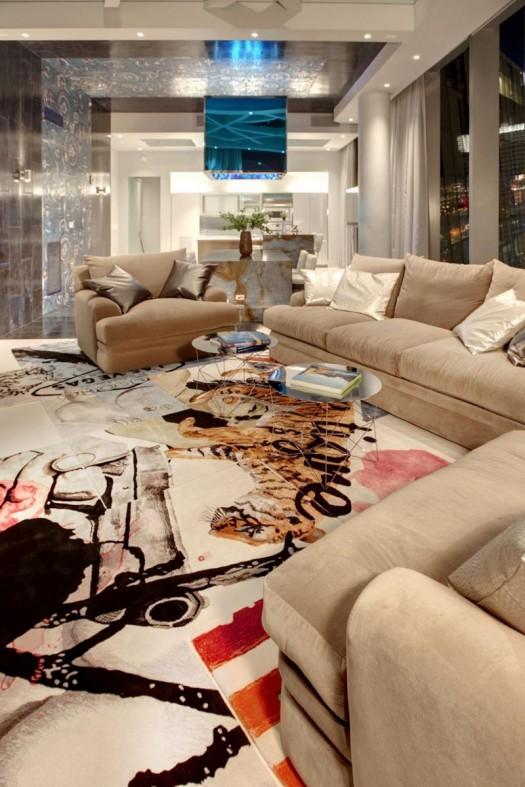 Spice Boho: Luxury Interior Design Penthouse by Mark Tracy