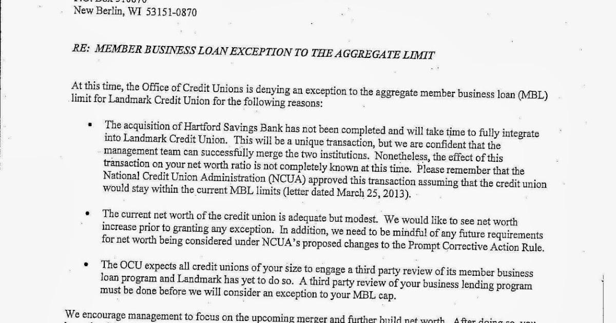 keith leggett u2019s credit union watch  denial of landmark mbl