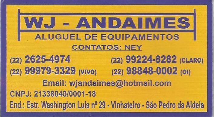 WJ Andaimes