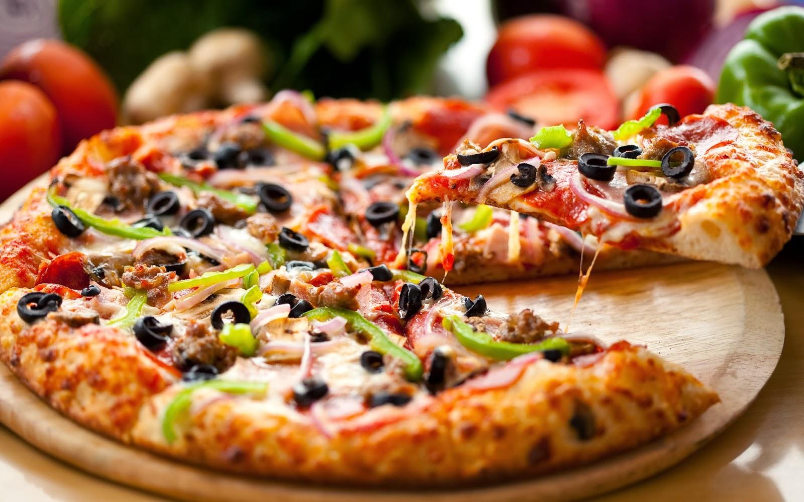 Самое лучшее тесто для пиццы