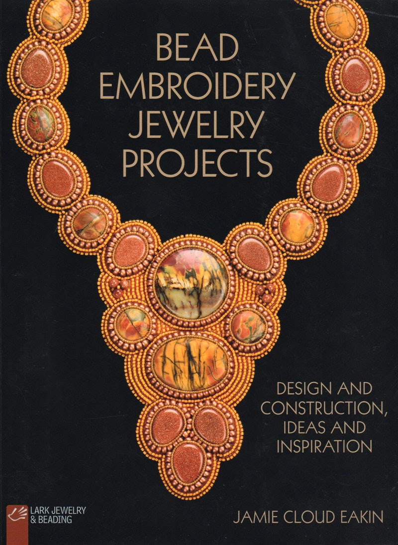 lark book giveaway bead embroidery jewelry projects