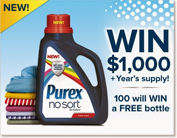 Enter The Purex No Sort For Colors Giveaway!
