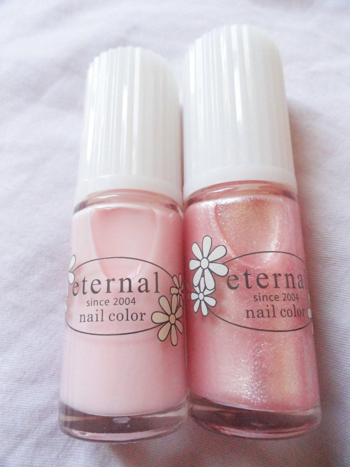 ♥ MoodiBunni ♥: PA Eternal Nail Polish & Glittery Nails *3*