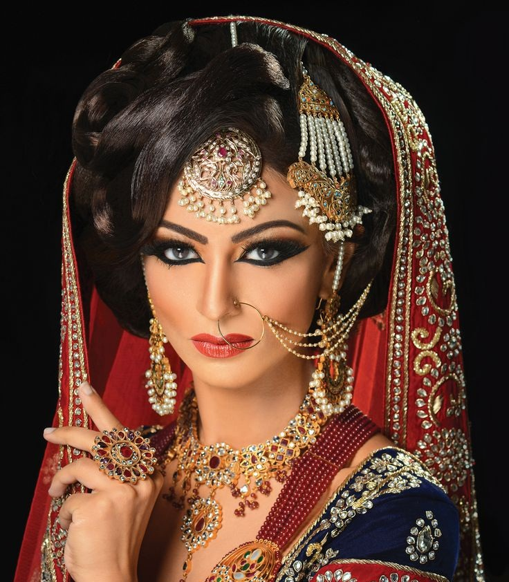 Beauti Stylish Bridal Makeup Ideas For Bridal 2015 Image ...