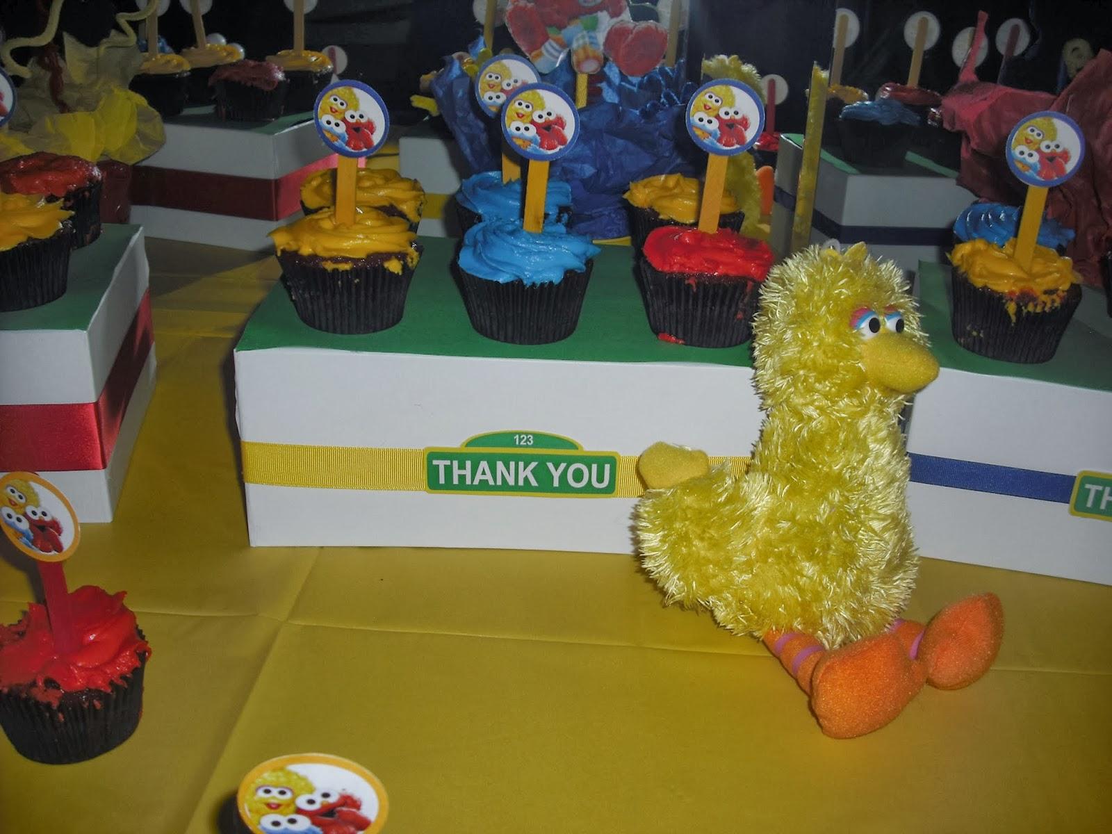 Baby Shower Sesame Street Theme