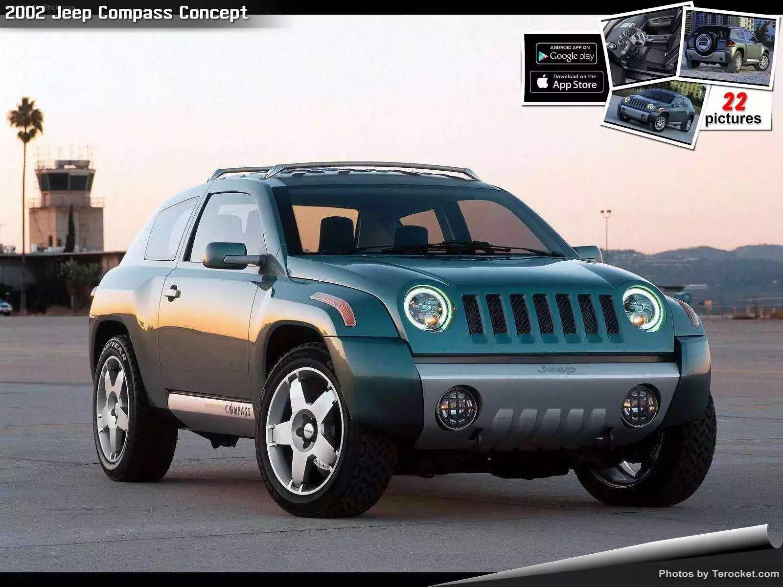 Hình ảnh xe ô tô Jeep Compass Concept 2002 & nội ngoại thất