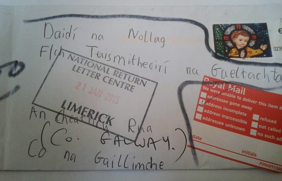 The hidden ireland a letter to father christmas a letter to father christmas this is a very sad story spiritdancerdesigns Choice Image