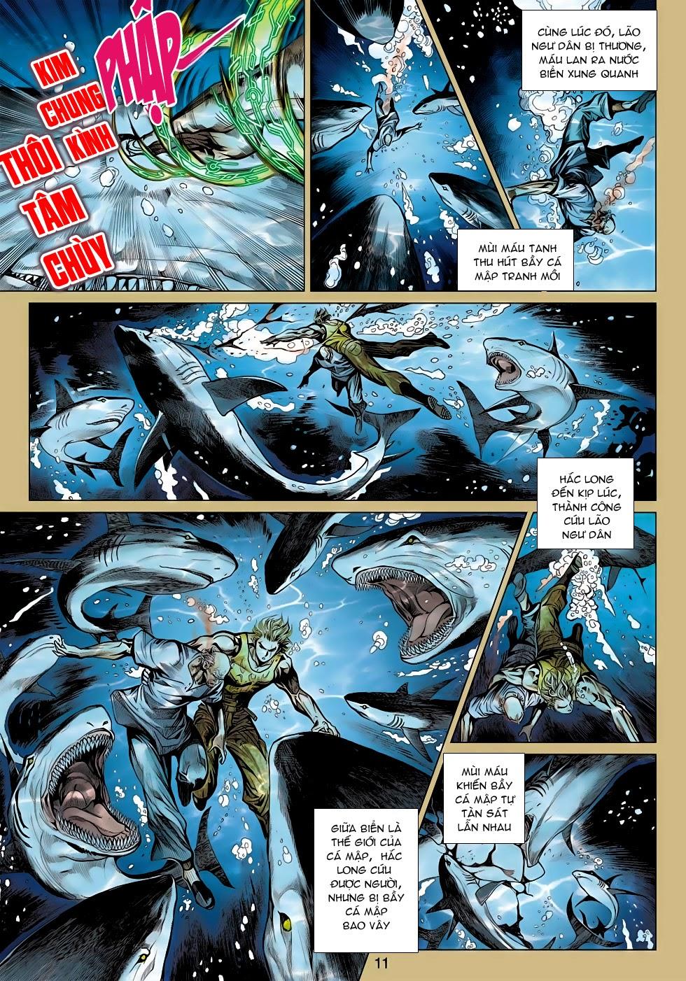Tân Tác Long Hổ Môn trang 10