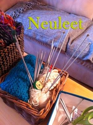 Wanna-knit neuleet ja keskeneräiset tekeleet