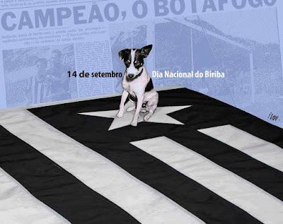 Botafogo: hoje é aniversário do Biriba, o mais famoso mascote da História do futebol