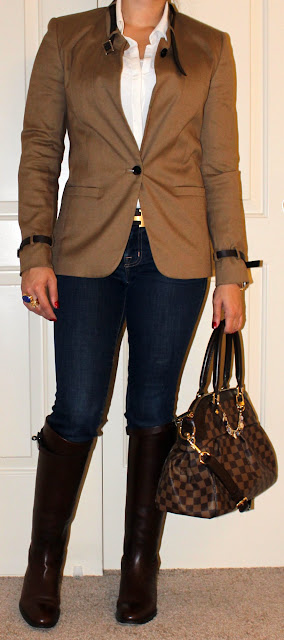 Petite blogger luxe equestrian style