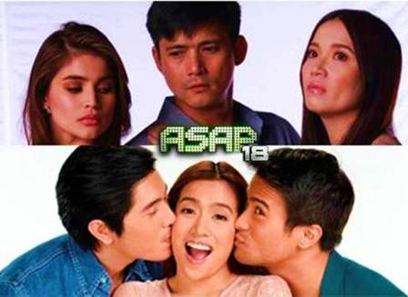 Sam-Angeline-Paulo and Kris-Robin-Anne Triangles on ASAP 18 this January 20