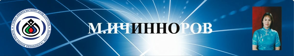 М. Ичинноров