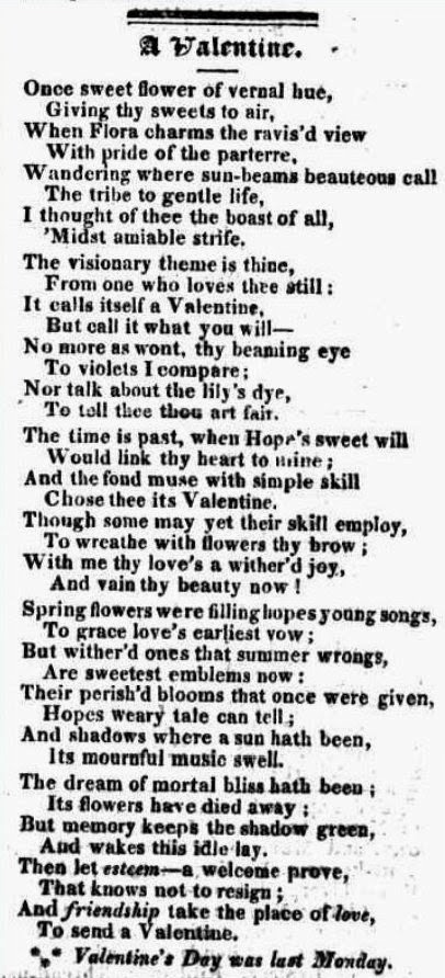 1825 Valentine poem, from Trove Australia: http://trove.nla.gov.au/ndp/del/page/123513?zoomLevel=1